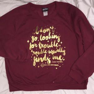 Harry Potter Sweatshirt Sz XXL    F17